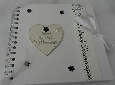 Gallina Do/Noche Personalizado Scrapbook/Photo Albumes Artesanales Negro/Blanco