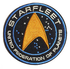 "Star Trek Beyond- Starfleet UFP Gold l3.5"" Patch-FREE S&H (STPA-SFC-16)"