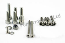 Honda CBR929RR Fireblade Stainless Controls Bolts Kit