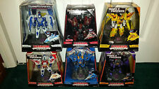 Transformers Titanium Starscream Thundercracker Skywarp Sunstorm Scourge Thrust