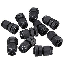 10x Compression Cable Glands Waterproof Connectors IP68 M12 Stuffing Gland 12mm