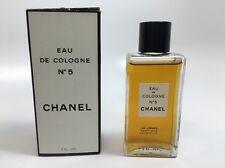 Vintage RARE 1960s CHANEL No 5 Eau de Cologne 2 oz 60 ml, Old Formula