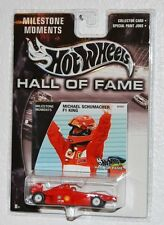 Hotwheels Hall of Fame Michael Schumacher F1 King   New NM