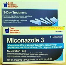GNP 3-Day Treatment Miconazole 3 for Yeast infection