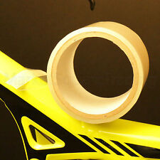 BIKE FRAME FORKS PAINT PROTECTION TAPE CLEAR STONE CHIP CABLE RUB MOUNTAIN BIKE