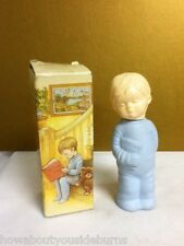 Avon COLLECTIBLE SWEET DREAMS ZANY BLUE BOY COLOGNE EMPTY WITH BOX vintage YR7