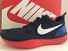 NIKE 631409 414 Solarsoft Run Men Size 12 M Midnight Navy/White/Game Royal