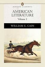 Pearson English Value Textbook: American Literature Vol. 1 by William E. Cain...