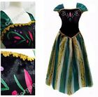 Adults Women Frozen Princess Queen Anna/Elsa Costume Cosplay Party Fancy Dress
