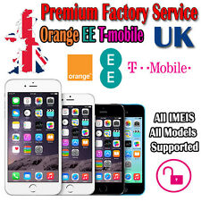 Premium Factory Unlock Service iPhone T-Mobile Orange EE UK All IMEIS All Models