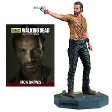 "WALKING DEAD RICK GRIMES 3 3/4"" FIGURINE #1 -EAGLEMOSS FIGURE- BOX MINOR DAMAGE"