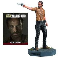 "IN STOCK- WALKING DEAD RICK GRIMES 3 3/4"" FIGURINE #1 -EAGLEMOSS FIGURE"