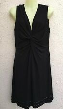 LAUNDRY By DESIGN Sz Petite 8 Women's Black Sleeveless Dress ~ Fully Lined ~NWT