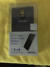 Original Samsung Galaxy Note 4 Wireless Charging Battery Cover Black EP-CN910IBU