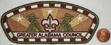 TOUGH ISSUE OLD Merged CSP GREATER ALABAMA COUNCIL BOY SCOUT PATCH 2013 JAMBOREE