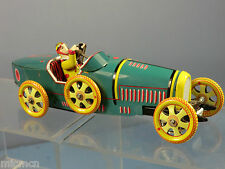 "REPRODUCTION TINPLATE C /W MODEL No.1-970 ""1920'S""BUGGATI 2 SEATER TOURING CAR"