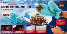 Cleanmaxx Magic Reinigungshandschuh Reinigungsset Hightech-Microfaser Viskose 3