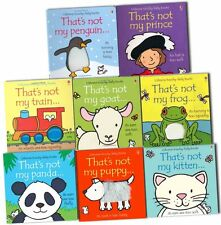 Thats Not My Toucy Feely Collection 8 Books Pack Set By Fiona Watt-Frog, Puppy,G