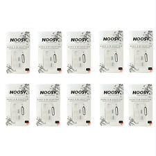 10x Nano Sim Card To Micro Standard Adapter Converter Set Iphone5/5s & 4/4s New