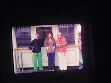 slide 1975 California Anaheim Disneyland Amusement Park ticket booth front women