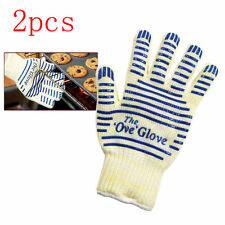 US Sell 2X Ove Glove Hot Resistance Surface Handler Oven Firefight Kitchen Tool