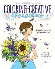 Coloring Creative Characters Adult Coloring Book: Fun Coloring Pages With Person