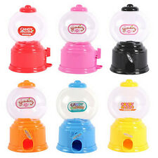 Hot Toy Gumball Saving Coin Box Kids Cute Mini Candy Machine Dispenser Bubble