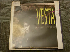 "Vesta:  Once bitten twice shy   7""  MINT UNPLAYED VINYL"