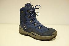 LOWA Gore-Tex Schuhe Wander/Outdoor Stiefel Wildleder Blau Gr.37  LP140€ Top