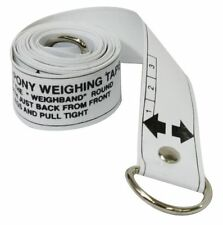 Showman Horse and Pony Height & Weight Tape Worming Dosage