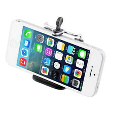 Cell Phone Stand Clip Bracket Tripod Holder Mount For iPhone Sumsung HTC GA