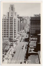 Frashers Fotos Real Photo Postcard Hill Street in Los Angeles, California~106493