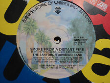 """Sanford/Townsend Band """"Smoke From A Distant Fire"""" 1977 WARNER BROS Oz 7"""" 45rpm"""
