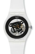 "SWATCH NEW GENT ""BLACK GHOST"" (SUOK107) NEU, SELTEN"