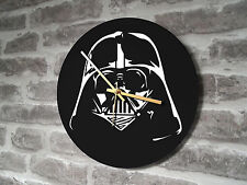 "Vinyl Record Wall Clock 12"" - Darth Vader Star Wars Man Cave"
