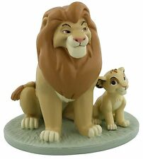 Disney Magical Moments Mufasa Simba My Daddy Is King Figure Ornament 11cm DI187