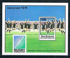 New Zealand 1991 Rugby SG MS 1627 MNH
