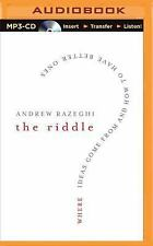 The Riddle : Where Ideas Come from and How to Have Better Ones by Andrew...