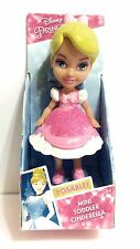 Disney NEW Princess CINDERELLA Pink Dress Mini Toddler Doll Figure NIP
