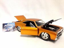 Fast & Furious 7 Dom's 1970 Plymouth Road Runner Copper 1:24  Diecast Jada Toys