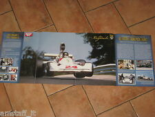 # POSTER JAMES HUNT HESKETH 308 GURBURGRING 1975 GP F.1 CM.77X28 AD16