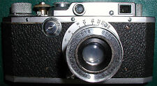 Canon SII Rangefinder Camera w/5cm f:3.5 Serenar,LTM, Mint-,Free Shipping in USA