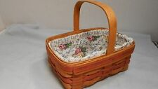 Longaberger Mothers Day Basket Double Liners 1992