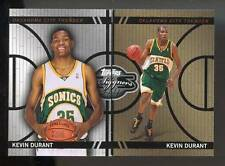 2008-09 TOPPS CO-SIGNERS #CF-10 KEVIN DURANT CHANGING FACES #835/899 SONICS