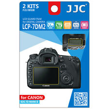 JJC LCP-7DM2 LCD Film Camera Screen Display Protector for CANON EOS 7D MARK II
