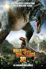 Walking With Dinosaurs Movie Poster, 24x36 BBC TV Tyrannosaurus Rex Dinosaur