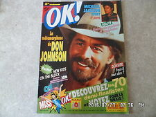 MAGAZINE OK N°799 06/05/1991 DON JOHNSON MICHAEL JACKSON J65