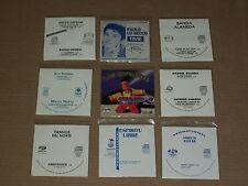 LOT 9x PROMO CD SINGLES los zopilotes PAOLO LO SECCO banda almeda MARITO RIVERA