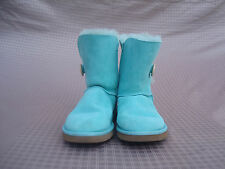 New UGG Australia Aqua Between Blue & Green Women Girls Ankle Boots US 5/ UK 36