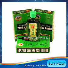 3 x 12ml Thien Thao Medicated Oil - Dau Gio Xanh!!!